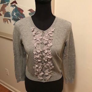 Abercrombie & Fitch Cardigan Front Embellishments
